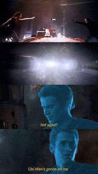Not again Anakin skywalker