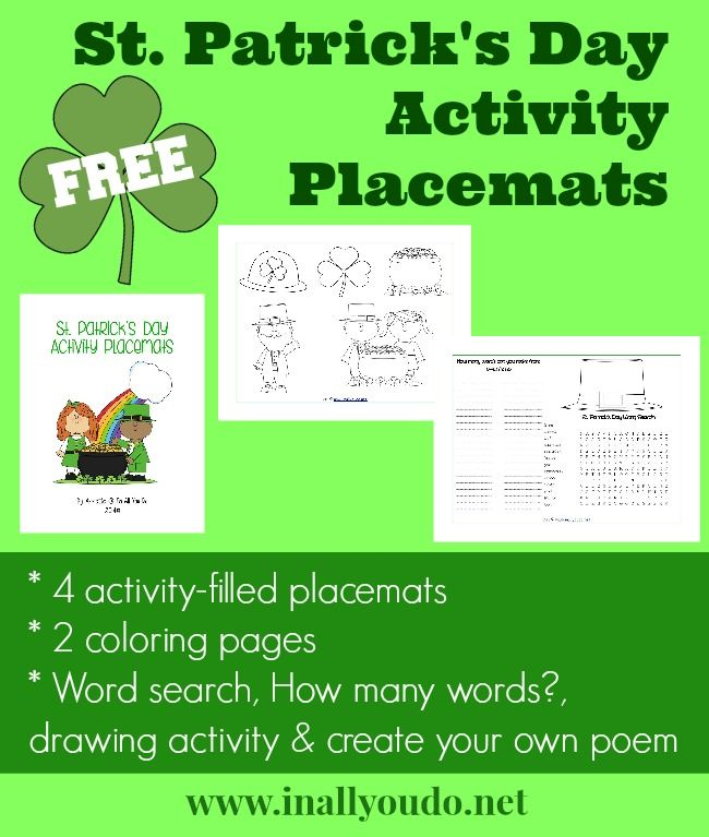 242 best images about st patrick 39 s day on pinterest saint patrick 39 s day activities and