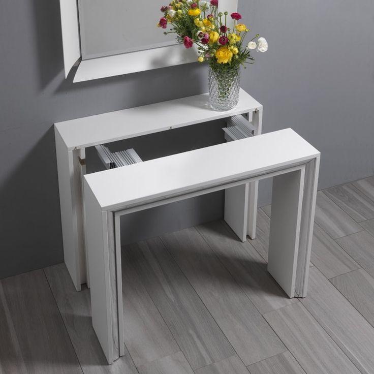 table gain de place 55 id es de tables pliantes. Black Bedroom Furniture Sets. Home Design Ideas