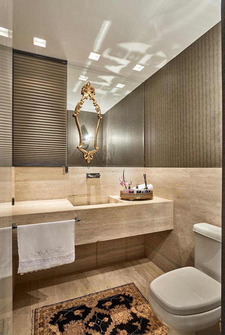 Apartamento LJ: Banheiros modernos por Gláucia Britto