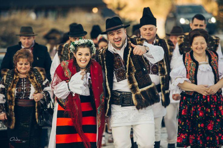 Lucian și Larisa. Nuntă tradițională în Bucovina.