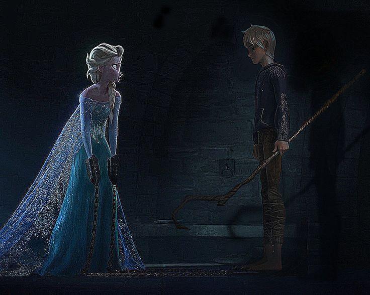 Jack Frost and Elsa | Elsa Jack Frost Jelsa jail