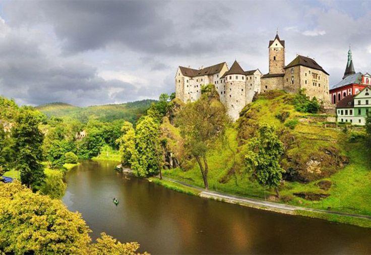 Czech Adventures event - Amazing architecture along Ohre river