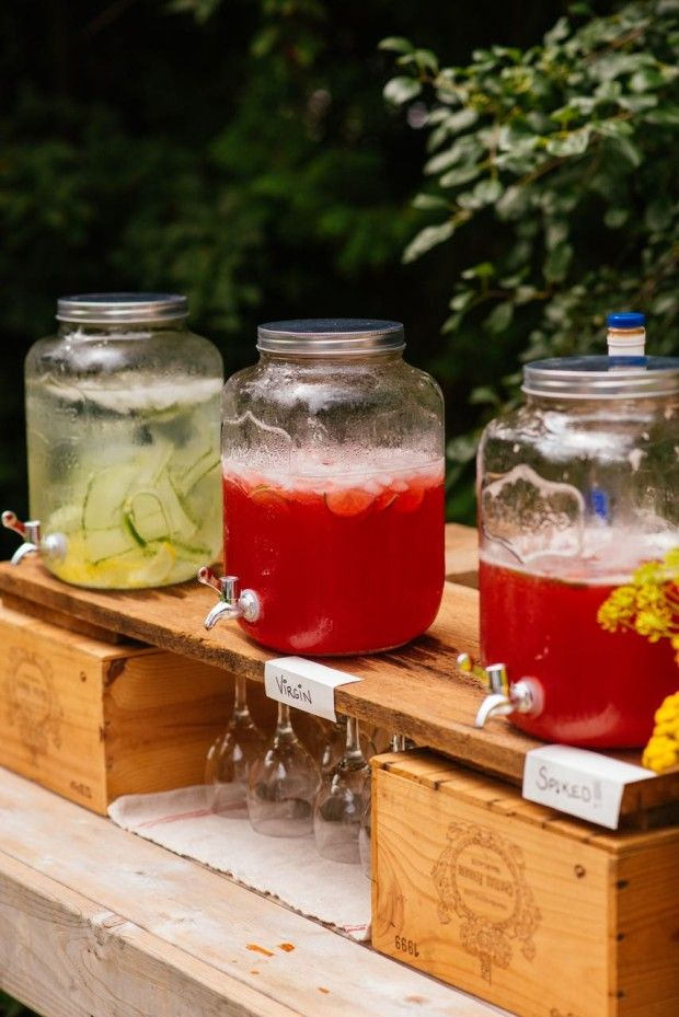 Party Punch For A Crowd How To Set Up A Functional Outdoor Bar