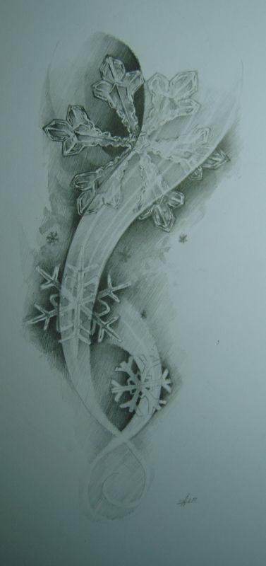 snowflakes by ~MOTH-Simeonov on deviantART