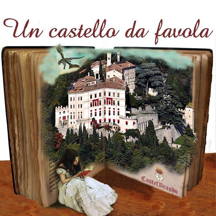 Un castello da favola fra le colline del #Prosecco! #castelbrando #castello #venetodigitale #visitveneto #cisondivalmarino #venetissimo
