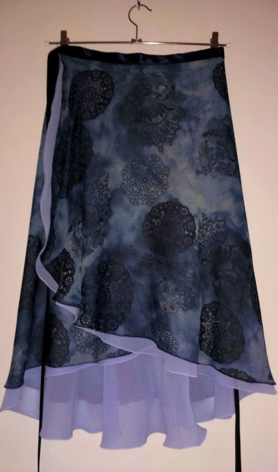 Ballroom Tango Skirt : Wind Machines by LibertasAtelier on Etsy