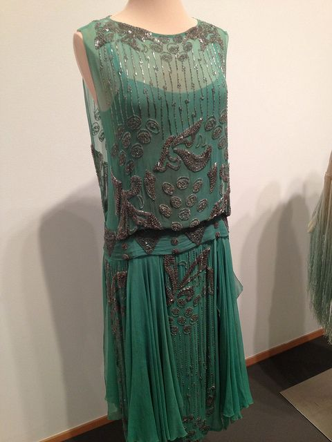 1920's evening dress | Flickr - Photo Sharing! Love this.