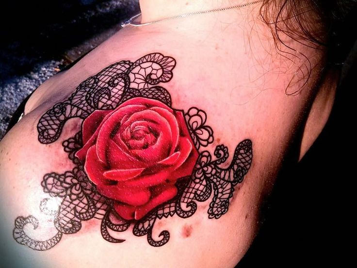 25 trending lace rose tattoos ideas on pinterest black lace tattoo lace tattoo and red rose. Black Bedroom Furniture Sets. Home Design Ideas