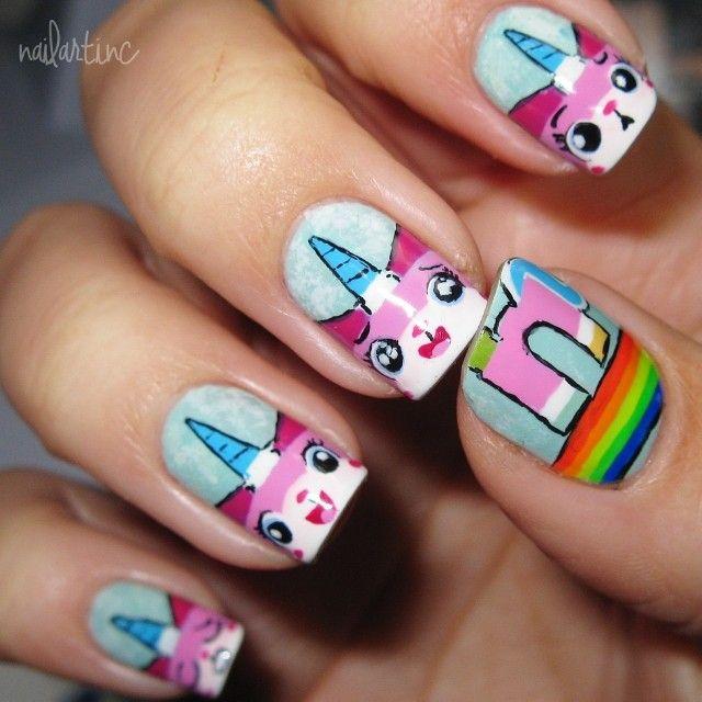 nailartinc lego movie #nail #nails #nailart