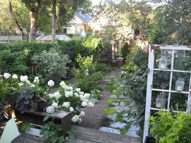 Jennifer Slipp's garden ~ year four - 2011 via Flickr.