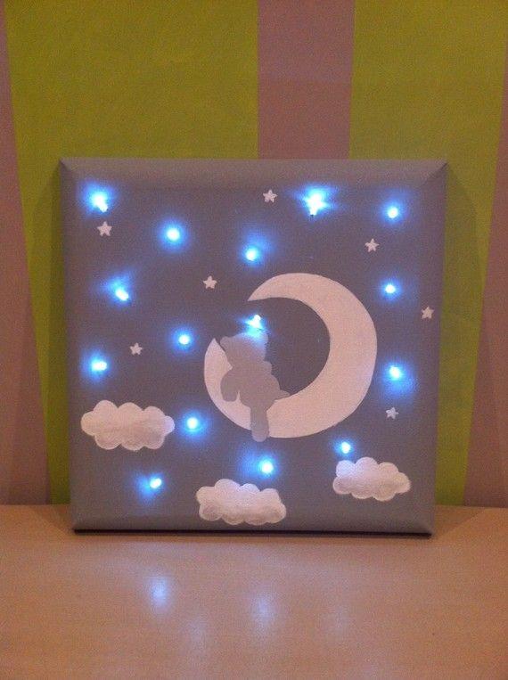 Les 25 meilleures id es de la cat gorie toile lumineuse sur pinterest art l - Tableau lumineux enfant ...