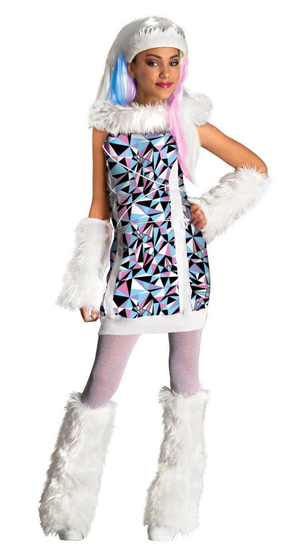 Monster High Kostuem Ebay.Abbey Bominable Monster High Mattel Nick Fancy Dress Up Halloween Child Costume Ebay Monster High Halloween Costumes Monster High Costume Halloween Costumes For Kids