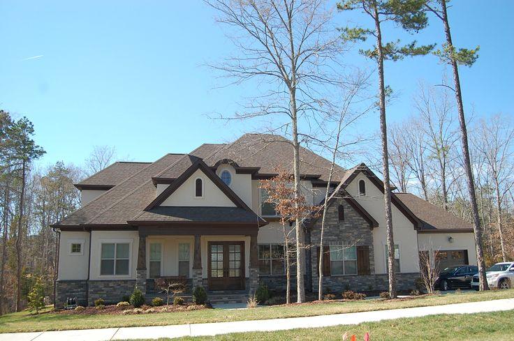 Best Arh Camden Plan Exterior 32 Roof Owens Corning Oakridge Teak Soffit Fascia Sw6009 French 400 x 300