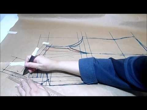 AULA 12 - Curso Modelagem Tecido GRÁTIS (blazer de alfaiate) - YouTube
