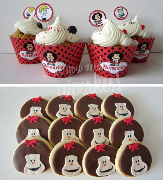 All You Need Is Cupcakes!: Diario de una Pastelería: Mafalda nos vista