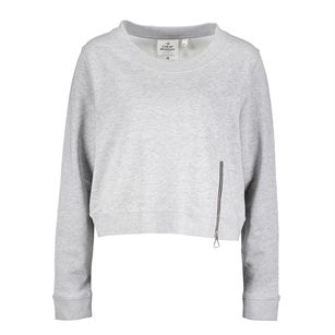 Cheap Monday Exact zip sweater, Grey, medium
