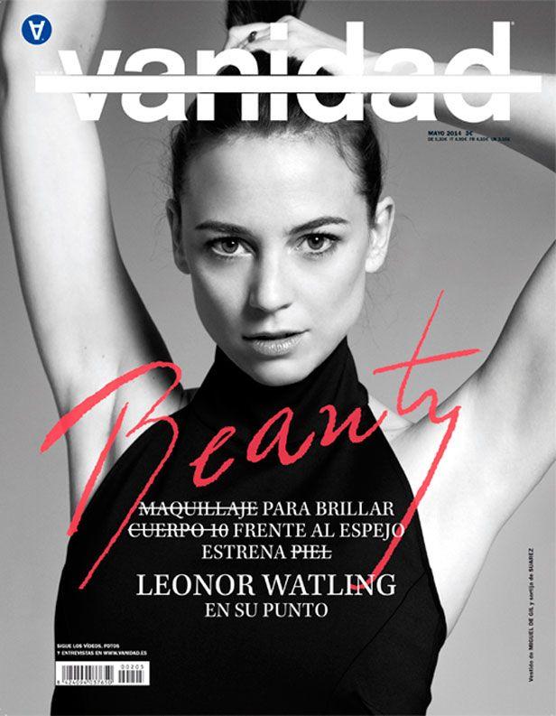 Vanidad Mayo 2014: Leonor Watling en su punto