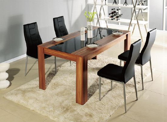 How To Create Your Own Dining Set Room Pinterest Sets Wooden Tables And Black Chairs