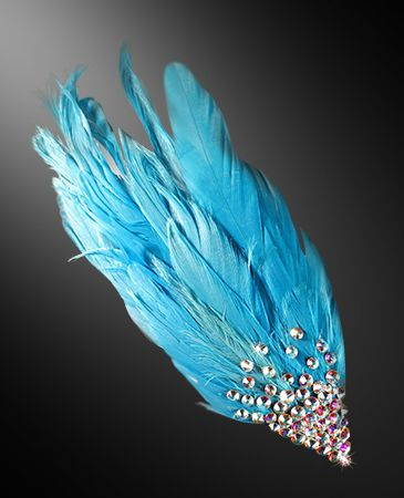 Zdenka Arko Crystal AB Rhinestone Hairpiece HA11001-38 - Rhinestone Jewelry | Dancesport Fashion @ DanceShopper.com
