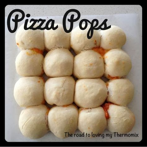 Pizza Pops - The Road to Loving My Thermo Mixer