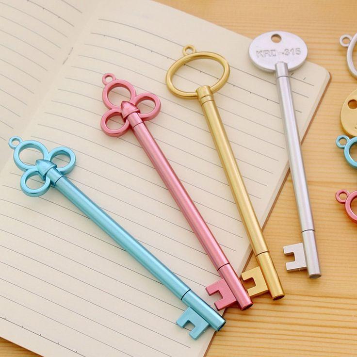 Wer hätte gedacht, dass diese Schlüssel schreiben können? In den Keys verstecken sich Kugelschreiber/ Gelstifte. (affiliate link)