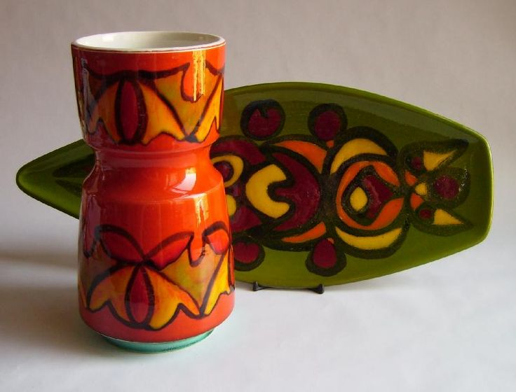 Poole Pottery Delphis Range - late 60's - early 70's