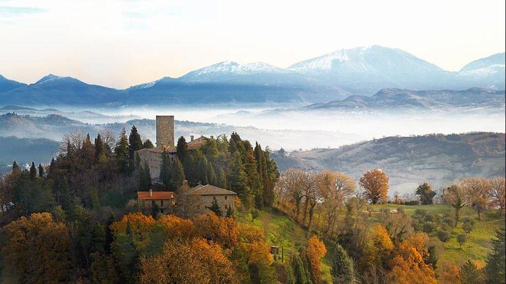 Castello di Petroia, Gubbio, Italy
