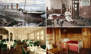 Russian photo editor Anton Logvynenko has breathed new life into the story of the iconic ship by painstakingly colouring in the photographs.