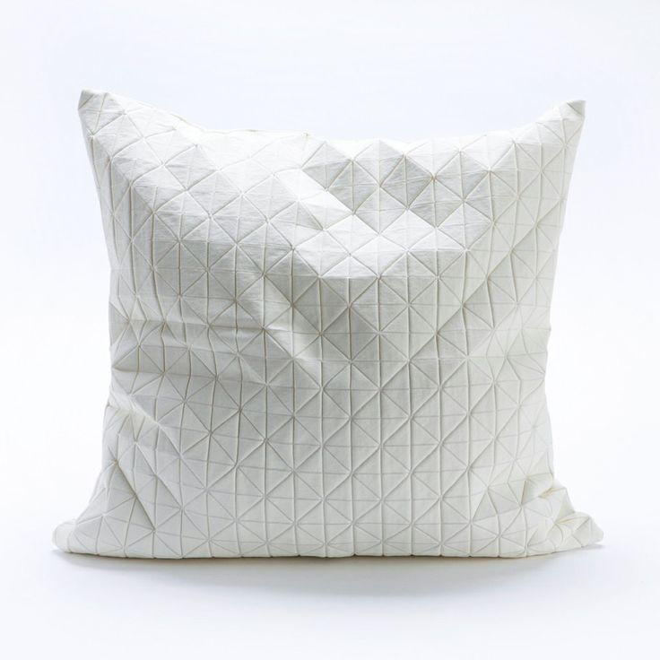 Origami Throw Pillow Cover - I love this but a pillow COVER for $60?? Marked down from $90?!?