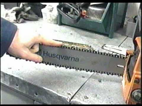 How to manually sharpen a Chainsaw Chain. Discount Small Engine sells new chain, and the tools to sharpen your chainsaw chain for our DIY customers. We also sharpen chains. If you have questions, please call Discount Small Engine Parts & Repair 1-828-245-9566.
