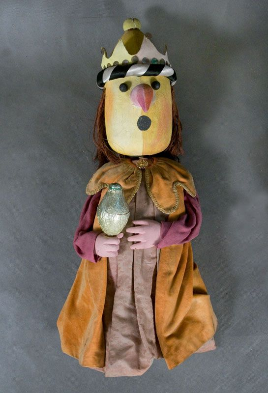 Puppet from the Puppet Theater 'Banialuka' in Bielsko-Biala, Poland (Jerzy Zitzman, 1981)