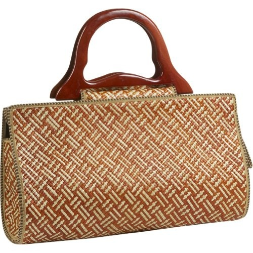$29.99-$47.00 Bamboo 54 Pandanus Satchel Wave (Rust) - Bamboo54 A sleek, stylish hand bag combined with natural beauty is what you'll find in this satchel bag by Bamboo54. The Wave Pandanus Satchel Bag has been weaved intricately into a contemporary wave pattern. A wooden handle and zipper closure make the Wave Pandanus Satchel Bag easy to carry anywhere without the discomfort of most other bigger ...