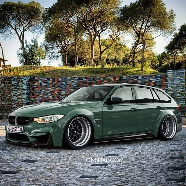 Visit The MACHINE Shop Café... ❤ Best of BMW @ MACHINE ❤ (BMW 3 Series Custom Wagon)
