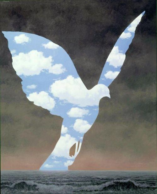 Сюрреализм: Рене Магритт + Сальвадор Дали (701 фото)
