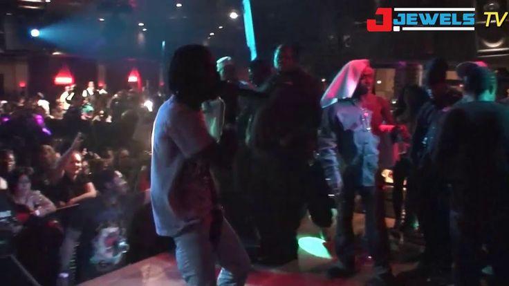 Mavado Live on stage clip shot by J. Jewels