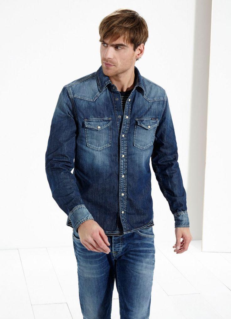 Pepe Jeans London | Camisa regular CARSON | Pepe Jeans London http://goo.gl/q8Uj6w