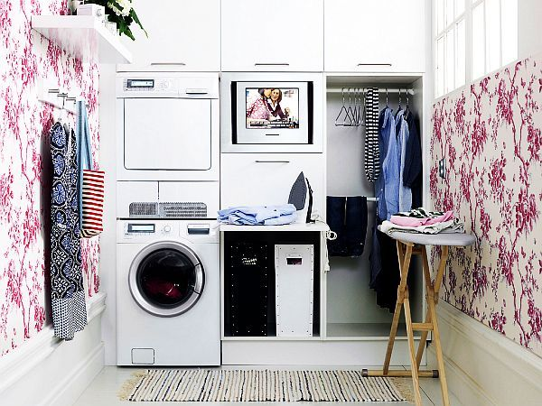 Laundry Room wallpaper - Decoist