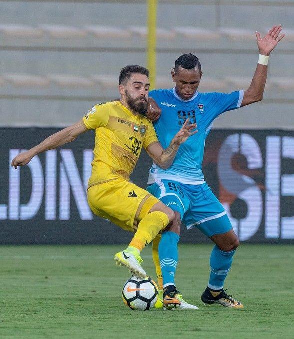 Anthony Caceres #alwaslsc #Dubai #footballer