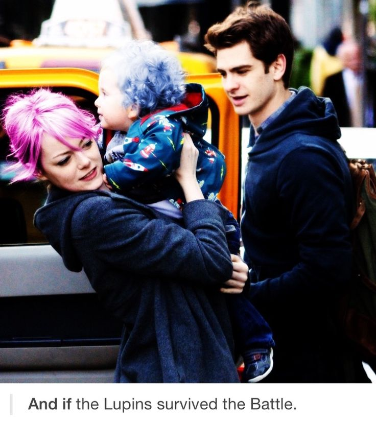 Who... why... its Emma and Andrew... but as... as... *bursts into loud, ugly sobs*