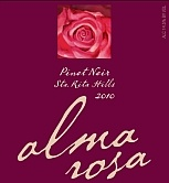 Named after me :)  after all............that is my name and it's absolutely amazing!!!!!  Alma Rosa Pinot Noir