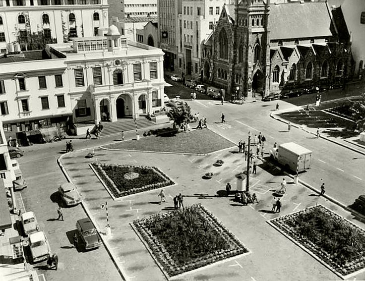 Greenmarket Square, Cape Town, 1962