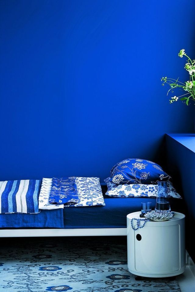 Perfect Royal Blue And Black Bedroom Blau Bleu Azul Bl Indigo For Ideas