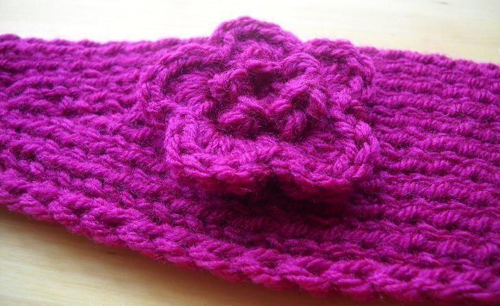 Knit Monkey Pattern : Knit Headband w ... by Sugar Babies Knitting Pattern