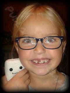 Pudło ze Skarbami - rękodzieło szydełkowe : Szydełkowy ząb