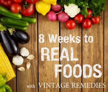 8 Weeks to Read Foods with Vintage Remedies - just started - really enjoying the read.  We'll see how the family responds!