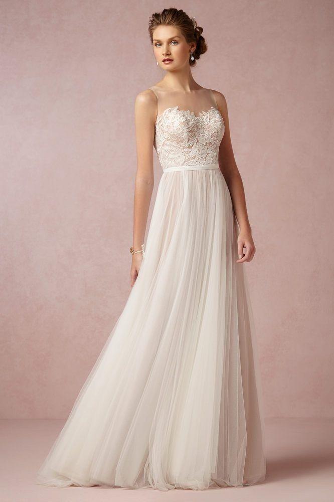 Robe de mariée longue, bustier