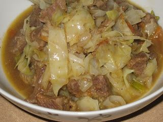 Luscious Low Carb: Hearty Beef and Cabbage Stew