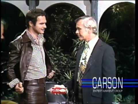 Burt Reynolds on the Tonight Show starring Johnny Carson - YouTube