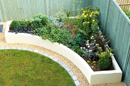 *Love the small gravel edge around the garden bed. Really accents the bed nicely and catches your eye.